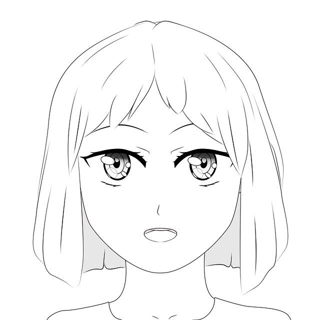 manga děvče