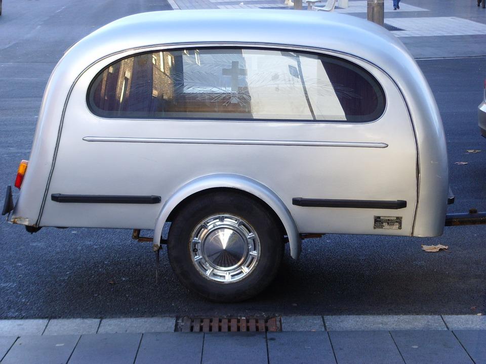 Převoz nákladu přívěsným vozíkem
